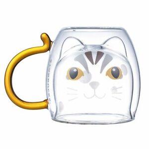 Starbucks-Taiwan-2019-conservation-animal-leopard-cat-double-wall-glass-mug-10oz