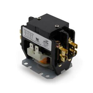 Contactor 2 Pole 30 Amp 24V Coil Definite Purpose Contactor