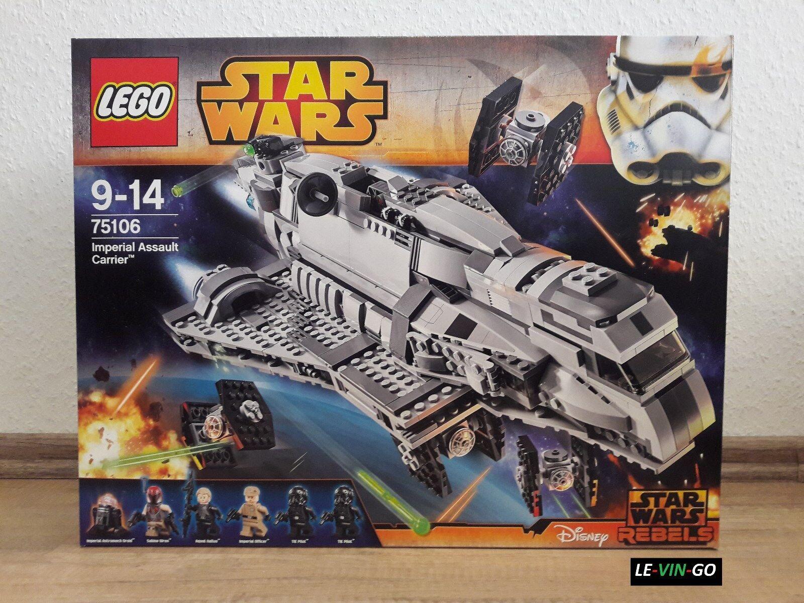 LEGO® LEGO® LEGO® Star Wars™ 75106 Imperial Assault Carrier™ NEU 562cfb