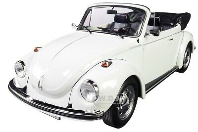 VW Käfer Beetle 1303 Cabriolet 1972-75 weiss white 1:18 Norev 188524