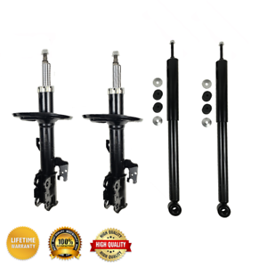 4 FRONT/&REAR Shocks and Struts For 2008-2010 TOYOTA SIENNA FWD