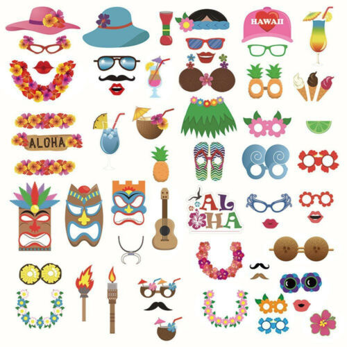 DIY Photo Booth Props Mustache On A Stick Mask Birthday Wedding Party Decor Acc