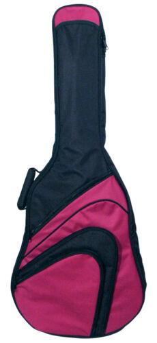 Gitarrentasche gepolstert GB500 rot,10mm 4//4 Konzert//Klassikgitarre!n Gig Bag