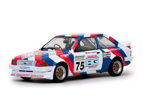 SUNSTAR 4965 4966 FORD ESCORT Mk3 1600i model car BSCC & BTCC 1985   1988 1 18th