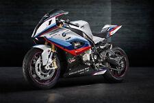 BMW HP4 RACE BIKE MOTORCYCLE POSTER PRINT 24x48 9MIL PAPER