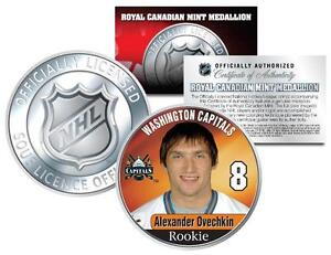2005-ALEXANDER-OVECHKIN-8-NHL-Washington-Capitals-RCM-Rookie-COIN-Licensed