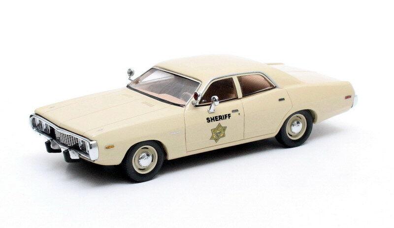 Matrix modelli in scala 20405-152, 1973 Dodge Coronet 4dr, lo sceriffo AUTO SCALA 1:43