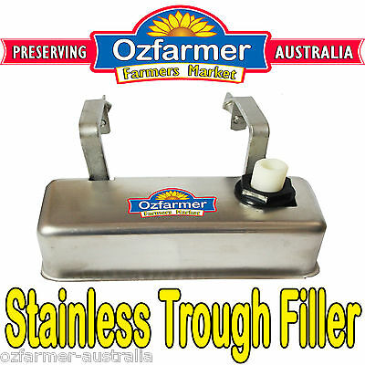 Stainless Monoflo Automatic Water Trough Filler Stock Waterer Tank Bath Animal