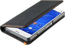 Original Sony Xperia Z5 Compacto Roxfit Premium Slim Book Funda Protectora   Negro