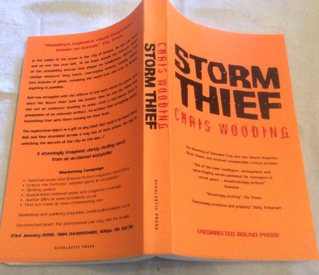 Chris Wooding Storm Thief **PROOF COPY **