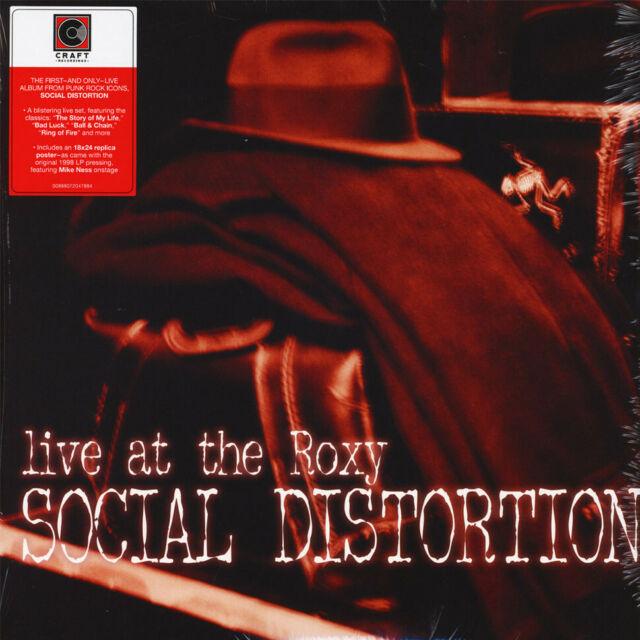 Social Distortion - Live At The Roxy (Vinyl 2LP - 2018 - EU - Original)