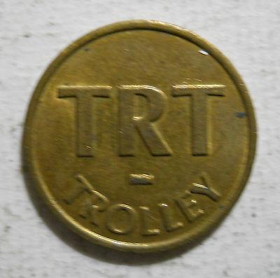 TRT Trolley transit token Virginia Beach VA895F