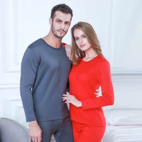 Thermal Underwear Men/'s Winter Women Long Johns Sets Fleece Keep Warm Thicken ZB