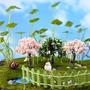 Miniature Fairy Diy Mini Tree Plants House Dollhouse Garden Micro