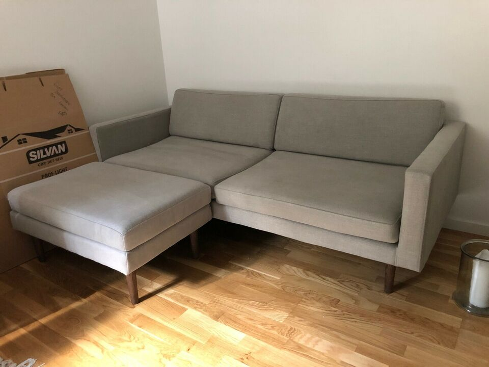 Sofa, polyester, 3 pers.