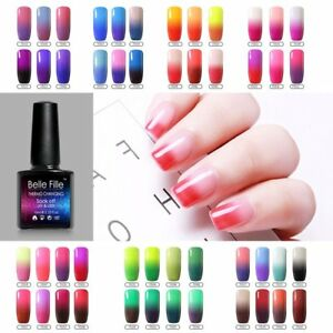 Changing-Color-UV-Gel-nail-Polish-Full-Collection-Choose-Any-10ML-Belle-Fille