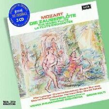TALVELA/DEUTEKOM/PREY/BURROWS/LORENGAR/SOLTI - DIE ZAUBERFLÖTE (GA) 3 CD NEU