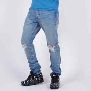 Levi's 505C Slim Gerades Bein Joey blau Herren jeans 31/32 W31 L32