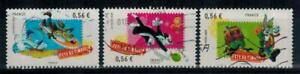 timbres-France-n-4338-4340-obliteres-annee-2009