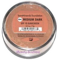 Bare Escentuals Bareminerals Medium Dark 4n Foundation Large .3oz/9g-new