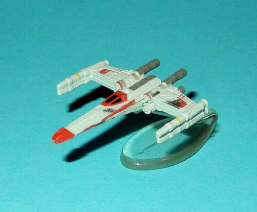 STAR WARS Micro Machines Battle Damaged - Galoob lot X-WING Red Leader