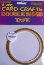 3mm X 5 Meters Polyester Clear Double Sided Sticky Tape