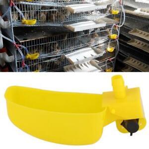 12-pezzi-Kit-abbeveratoio-acqua-distributore-allevamento-pollame-polli-galline