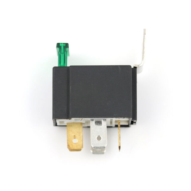 12V 4 Pin 30A Fused Relay With Bracket 12 Volt Normally Open On/Off SEAU
