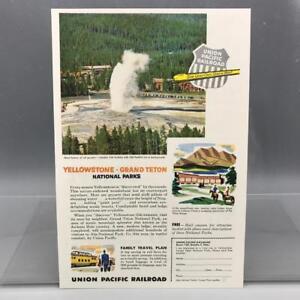 Vintage-Revista-Anuncio-Estampado-Diseno-Publicidad-Union-Pacific-RR-Yellowstone