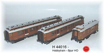 Hobbytrain 44016-carro-set Vienna-nizza-cannes Express 3 Pezzi Set 1 Ac Spur Ho-nes Express 3-tlg. Set 1 Ac Spur Ho It-it Mostra Il Titolo Originale