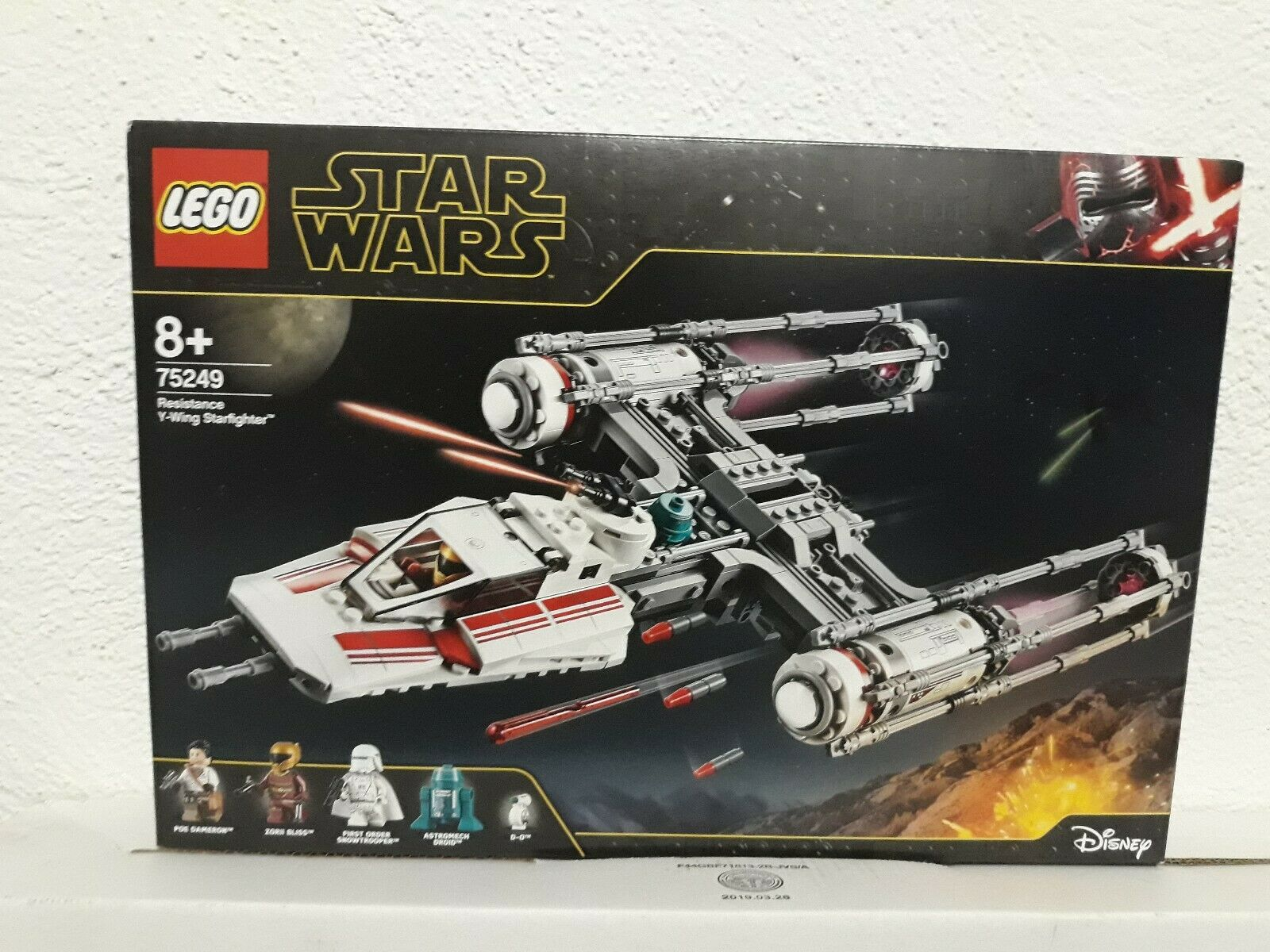 Lego Star Wars 75249 Resistance Y-Wing Starfighter New  nuevo