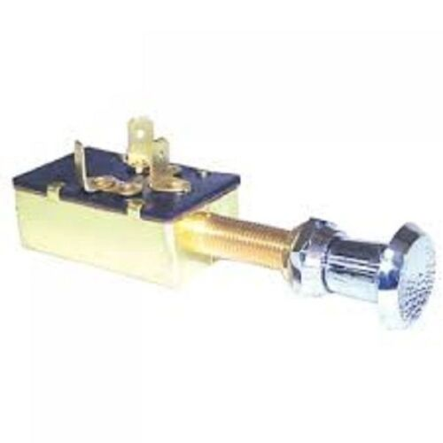 New Boat Switch Marine 3 Position Push Pull Brass SIE MP39590