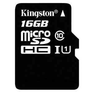 Memory-Card-Micro-SD-Hci-16GB-Class-10-45MB-S-R-T-Flash-Kingston-Sdc10g2-16gb