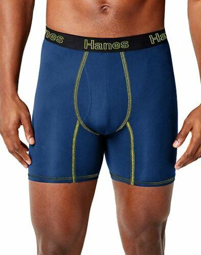 Hanes Mens Boxer Briefs 3-Pack Comfort Flex Fit Lightweight Mesh wick No Ride Up