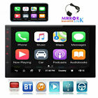 """7""""Android 10.0 Double 2Din Car Stereo Radio GPS Wifi OBD2 Mirror Link Player SWC"""