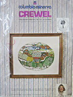 Vintage 1974 Erica Wilson Low Country Charleston Crewel Embroidery Kit 7515