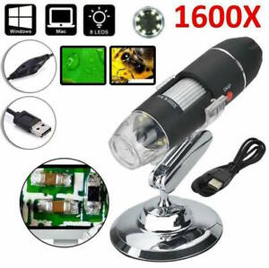 1600X-Zoom-8-LED-USB-Microscope-Digital-Magnifier-Endoscope-Camera-Video-NYPR