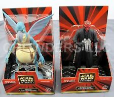 "Star Wars Episode 1 Kid's Collectible 6"" Darth Maul & Watto Figures Applause NIB"