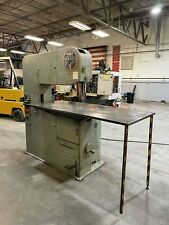 Doall 3613 Vertical Band Saw See Video Jet Baileigh Grizzly