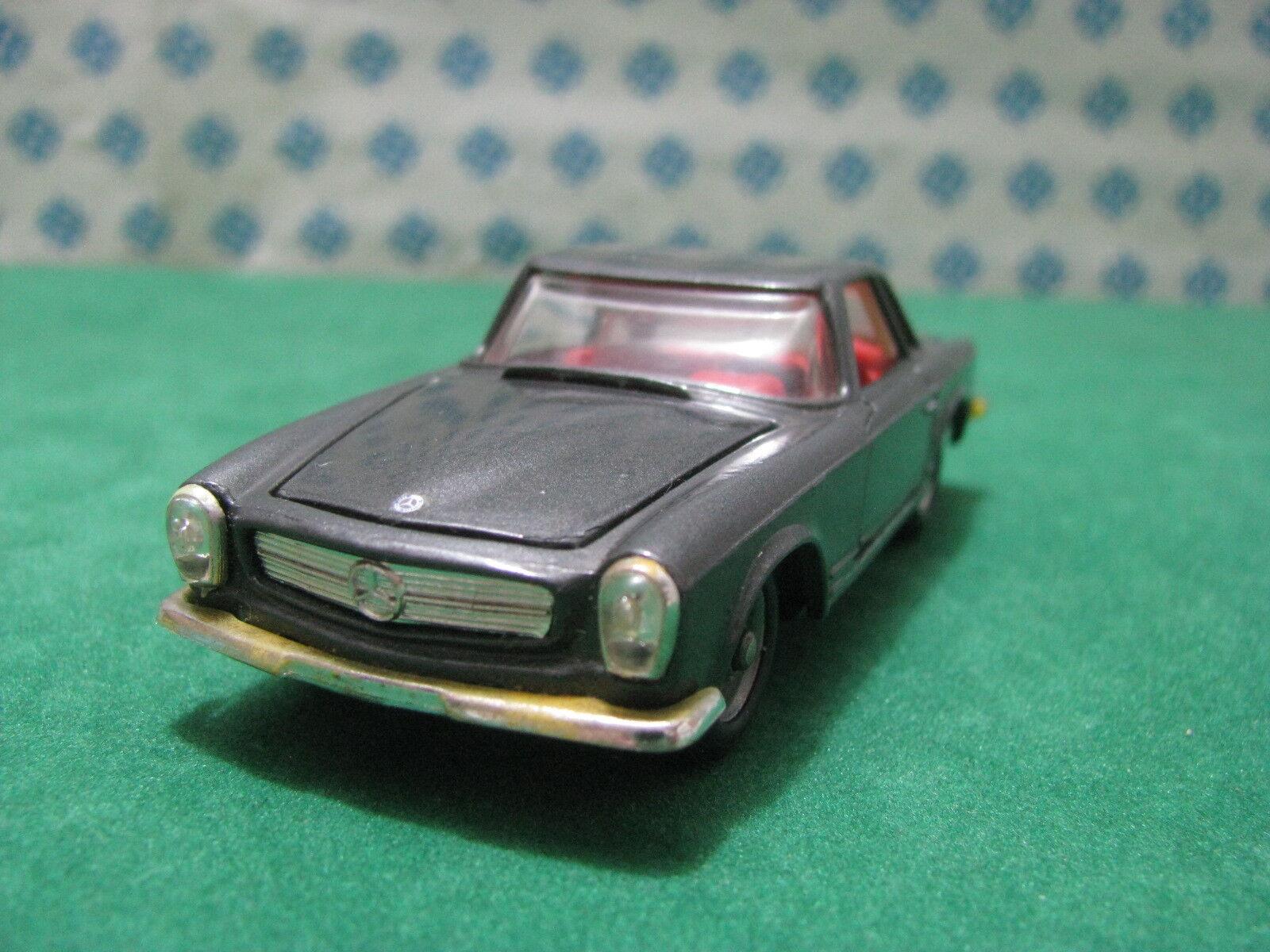 Vintage - MERCEDES-BENZ 230 SL SL SL Hard top 2300cc 1 43 Politoys-M503 ca43ed