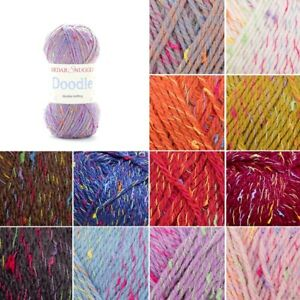 Sirdar-Snuggly-Doodle-DK-Double-Knit-Knitting-Yarn-50g-Ball-Wool