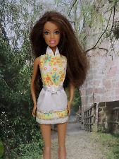Barbie Kleidung  ❤  KLEID Rückenfrei gelb  ❤  FÜR BARBIE, ANNA  ELSA.....