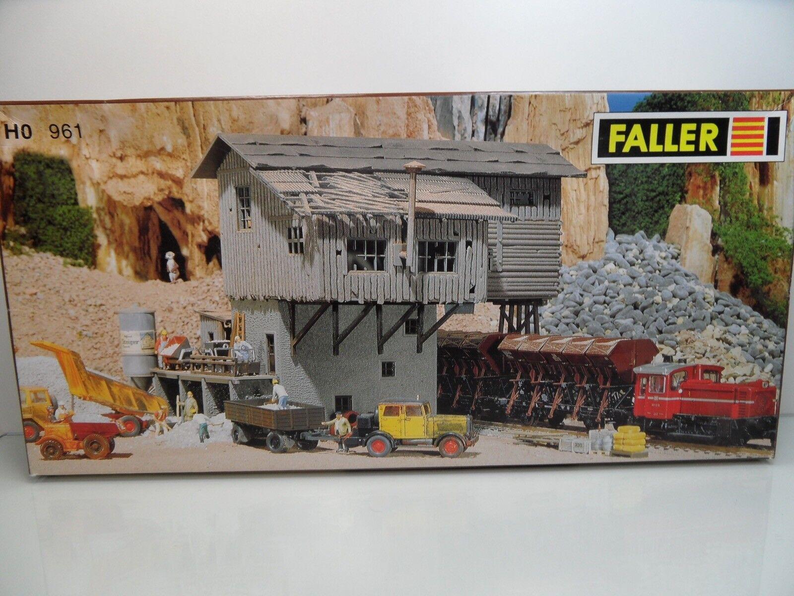Faller B-961 - HO - Altes Schotterwerk - TOP in OVP -  9357  | Gewinnen Sie das Lob der Kunden