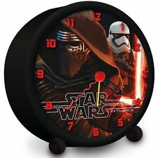 Star Wars VII Wecker KYLO REN STORMTROOPER Uhr Kinderwecker Alarm Clock NEU OVP
