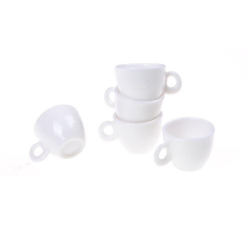 5 1:12 Puppenhaus Geschirr Miniature Mini Kaffee Teetassen Puppenhaus SpielzeuXJ