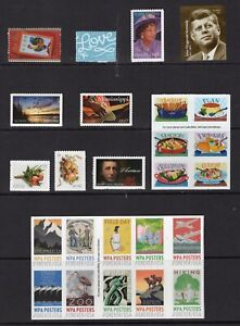 US-2017-COMPLETE-NH-COMMEMORATIVE-YEAR-Set-105-Stamps-COMPARE-Free-USA-Ship