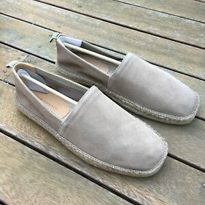 BNIB-Club-Monaco-Suede-Espadrilles-men-039-s-US9-5