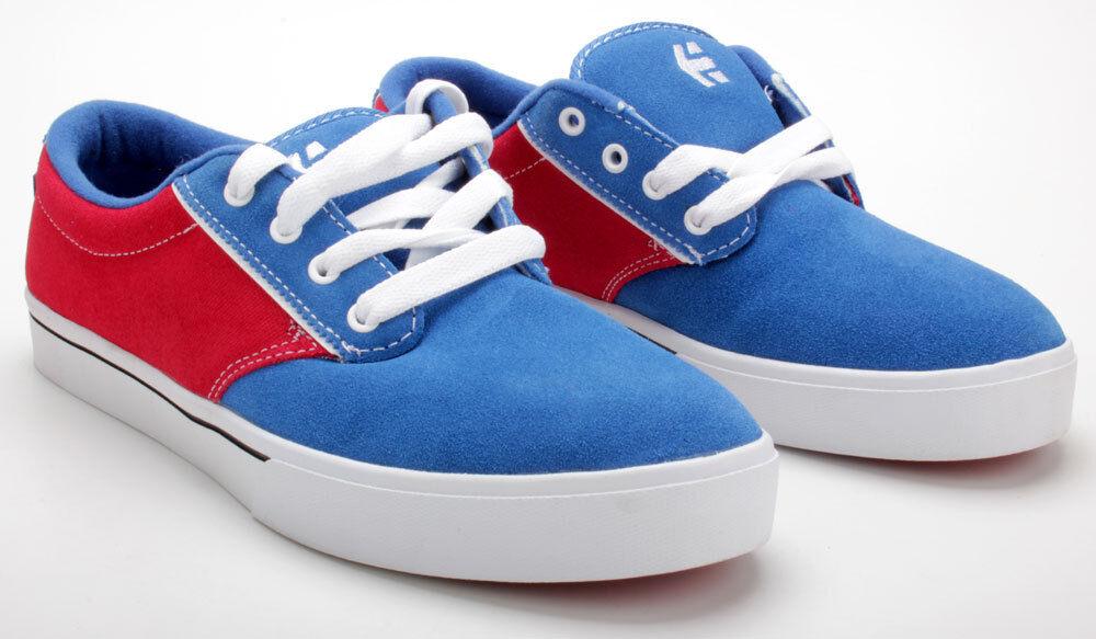 Etnies Schuhe Jameson 2 Blau rot Weiß