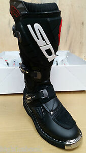 Sidi-Stinger-MX-motor-cross-Motorcycle-Bike-Boots-black-EUR35-C33