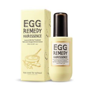 TOO-COOL-FOR-SCHOOL-Egg-Remedy-Hair-Essence-100ml-3-38oz-034-NEW-034